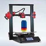 Impresora Plegable 3D, Pantalla táctil de 3 '' y Soporte de energía Certificado por UL PVA TPU ABS PLA, FDM DIY Impresora de alimentación Directa 11.8 '' x 11.8 '' x 15.7 '' (S1)