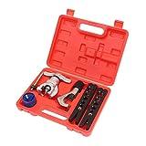 371216 Kit de herramientas de abocardado métrico e imperial Juego de 4 piezas Cortador de tubos de tubería CU AL 4-28MM