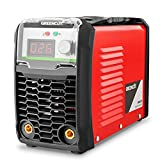 GREENCUT MMA200 - Soldador inverter turbo ventilado de corriente continua DC, 200A, Potencia Regulable, con Tecnología iGBT Máquina de Soldadora Portátil