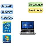 HP EliteBook 8460p–Windows 7–i54GB 250GB–14–Ordenador portátil ocasión