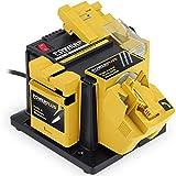 POWERPLUS POWX1350 Afiladora multifunción (96 W), Amarillo/Negro