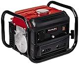 Einhell 4152530 Generador Electrico TC-PG 1000 con Sistema AVR (Regulacion Automatica Voltage) Potencia 800 w, Rojo