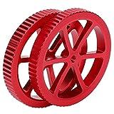 Tuercas De Nivelación De Impresora 3D, Piezas De Bricolaje Para Impresora Perilla De Nivelación De Plataforma Accesorios Rojos De Bricolaje Para Exteriores Para FDM Para El Hogar
