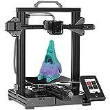 VOXELAB Aquila X2 Impresora 3D mejorada con plataforma de cristal de carborundo extraíble, totalmente de código abierto y función de reanudación de la impresión,funciona con PLA/ABS/PETG 220x220x250mm