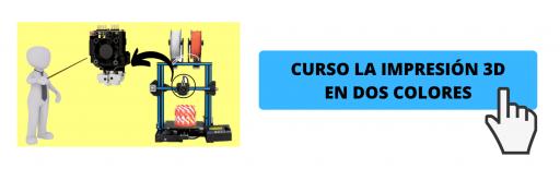 Impresión 3d en dos colores